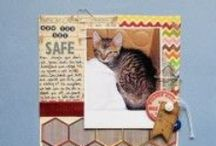 Budget Scrapbooking / tips for scrapbooking on a budget and using your scrapbook supplies to the fullest
