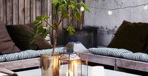 Impressive Outdoor Living / Inspiration and ideas to design a bold and brilliant backyard. Soak up the sun!