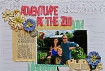 Travel: Theme Parks, Zoos and Aquariums / inspiration for scrapbooking and crafts using motifs for theme parks, zoos and aquariums / by My Scrapbook Evolution