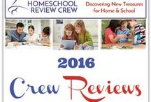 Reviews from the 2016 Crew / Homeschool product reviews