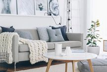 Living room inspo / Inspiration for decorating my living room/lounge space in my new home.