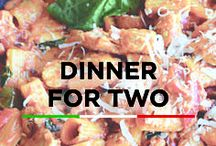 Dinner For Two / Romantic dinner recipes to share on date night!