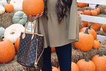 Autumn Fashion / Probably not skinny enough to wear any of this stuff but I love these autumn fashion ideas. Chunky knits, hats, denim and transitional pieces.
