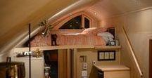 TINY HOUSES /  Tiny house minimaliste, élégante, simple, ordonnée.