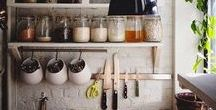 KITCHEN - CUISINE - MINIMALIST / Cuisine minimaliste, kitchen minimalist, zéros waste, zéros déchets.