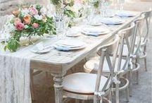 White Dinner / Diner en blanc / Ideen, Rezepte, Tischdeko, Deko, Outfits für ein White Dinner, Diner en blanc oder ein Weißes Picknick / Find party ideas, recipes, decoration, table settings and outfits for a White Party, a summer picknick or an elegant Diner en blanc!