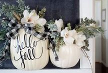Fall Decor and More! / Fall decor, crafts, and more! Come check out our Fall posts on www.thisbluedress.com
