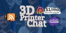 3D Printing / 3D Prints and 3D Printed items plus more Started by 3DPrinterChat.Com
