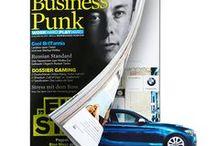 Kreative Anzeigen / Ideen und Konzepte für kreative Printanzeigen in Zeitschriften und Magazinen