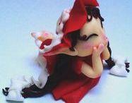 Marzipanart / #marzipanart #marzipanfiguren #confectionergirl