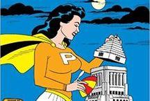Hashtag Comic Collection / Comics, die ich bisher gelesen habe. Entweder hat ein Comic eine besondere Illustration oder einen tollen Stil, der Autor gefällt mir oder auch die Story.