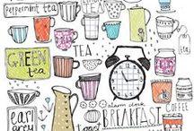 Hashtag Little Illustrations / kleine süße Illustrationen als Inspiration für mein Notebook, Sketchbook, Notizbuch,... Smileys, Skizzen, Comics, Comicfiguren, Sticker, Figuren, little things, Clip Art graphics, drawing, zeichnen, malen, skizzieren, graphic design