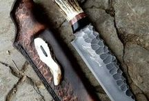 Knives and Tools / Most incredible Knives and other blades ever made. From Damascus steel to D2 machine steel