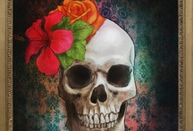 Day of the dead, bones and skulls / by Cathy Flesher
