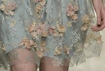 Embroidery / Beading / Lace / by Raina Lehmann