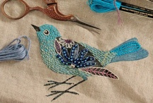 Crafty   Embroidery inspiration