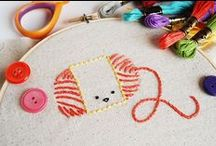 Embroidery / Embroidery Inspiration and Patterns / by Holly McCaig