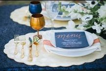 Party style inspirations / Beautiful tablesetting I am impressed!