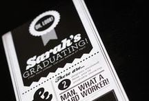 Graduation Announcements / Grad Invite and Announcement Design Inspiration / by Holly McCaig