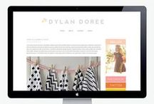 Wordpress Blog Design Inspiration / For my job - I need to be inspired on great website/blog design. Follow me at hollymccaig.com for design inspiration. / by Holly McCaig