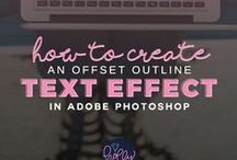 Adobe Photoshop Tips Tricks and Tutorials / Teaching Creative Bloggers How to Have a Better Business Through Creative Courses in Design & Product Development. Join my Free Library: http://hollymccaig.com / by Holly McCaig Creative