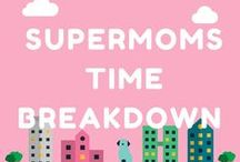 Time Management / Time management for Entrepreneur moms. Get support in the facebook group bit.ly/WorkingSupermom