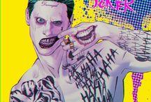 joker / My favourite superhero villain