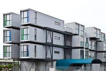 コンテナアパート Container apartment