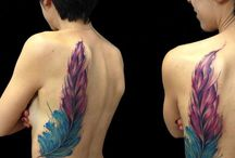 I miei Lavori watercolor / Watercolor tattooer