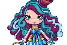 imagens da madeline hatter / a filha do chapeleiro maluco entrou no nosso mundo de preparam para verem maluquise