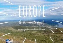 Europe: girlswanderlust / Europe: Girlswanderlust. Get inspired by our posts about the amazing culture, beautiful nature, lovely people and delicious food of Europe. #travel #wanderlust #girlswanderlust #traveling #reizen #travelblog #europe