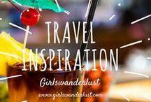 Travel inspiration: Girlswanderlust / Travel inspiration: Girlswanderlust. Get inspired by our posts about inspiring things like the best travel movies, books and places. #travel #wanderlust #girlswanderlust #traveling #reizen