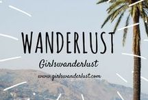 Wanderlust: Girlswanderlust / Wanderlust. Get inspired by other travel bloggers' posts about travel related destinations, technology, quotes or other inspiring travel related tips. #wander #travel #wanderlust #girlswanderlust #traveling #inspirate #inspiration #travelinspiration
