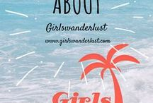 About: Girlswanderlust / About Girlswanderlust. Everyone dreams about travelling the world. That's why there is @Girlswanderlust, a blog about #travelling. Read more about the authors, rewards and nice facts. #travelblog