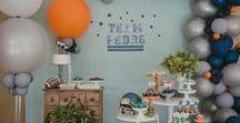 Chá de Bebê do Pedro - Tema Esportes / Festa infantil com tema esportes
