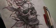 TATTOO / Przykładowe wzorki tatuaży