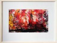 My abstract art i etsy