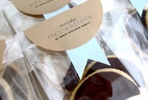 Packaging ~ Creative ideas with labels / fabulous ideas for using labels on packaging and favors