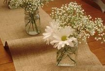 Packaging~ Ideas with Burlap / we love burlap for packaging & decorating ... here's some great ideas for using some of the different kinds of burlap that we carry online.