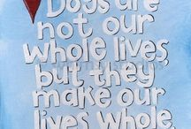 Doggie Stuff / Love me, love my dogs. I share my home with three four-legged goofballs and adore them to pieces. They are my love, they are my life, they are my profession. This board is for all things dog-related. / by Sandi Hansen