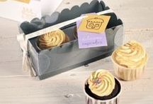 Packaging ~ Boxes ~ Bakery / creative ideas for packaging baked goods