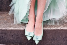 Mint Wedding Inspiration / A collection of favorite ideas and photography from mint themed weddings / by Zelma Rose