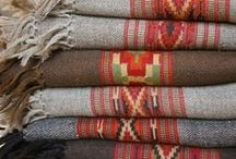 Textiles / A collection of favorite blankets and comforting textiles for the home. Including blankets, weaving, rugs, curtains, and bedding.