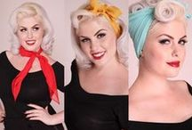 Pin-Up Hair Tutorials / Hair tutorials for hairstyles from (and inspired by) the 1920s to 1960s, with a concentration on the 40s and 50s.