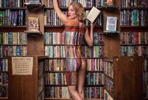 Boeken, bibliotheek en lezen / Cartoons, spreuken, humor over boeken, bibliotheek en lezen