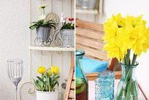 Frühling / Mit unseren neuen Wohnideen holen Sie sich im handumdreh den Frühling ins Haus.