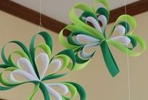 St. Patty's / St. Patrick's Day Ideas from crafts for kids to yummy food.