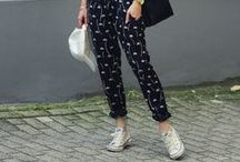 trouser love / Because a strong pair of trousers are the ultimate woman's power outfit; from everything to skinny jeans to chic separates