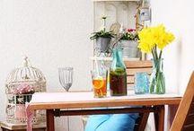 Balkon und Garten / Hier zeigen wir Euch Tipps, wie Ihr Euren Balkon oder Garten rund ums Jahr schön gestalten könnt.
