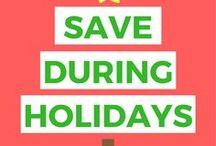 Holiday Savings / Save For Holiday   Save For The Holidays   Save During The Holidays   Save For Christmas   Christmas Saving   Holiday Savings   Save For Holiday Free Printables   Save For Holiday Money Challenge   Holiday Savings Plan   Holiday Savings Tips   Holiday Savings Free Printables   Holiday Savings Families